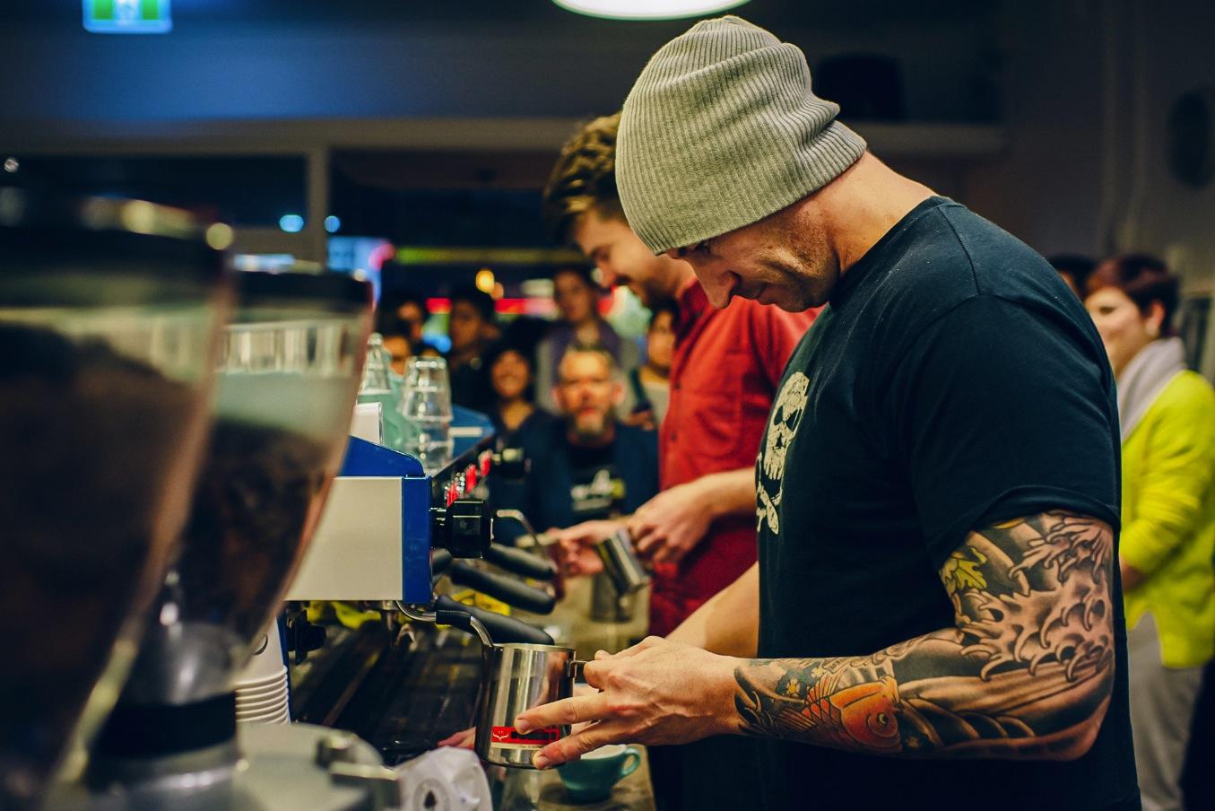 「barista tattoo」の画像検索結果