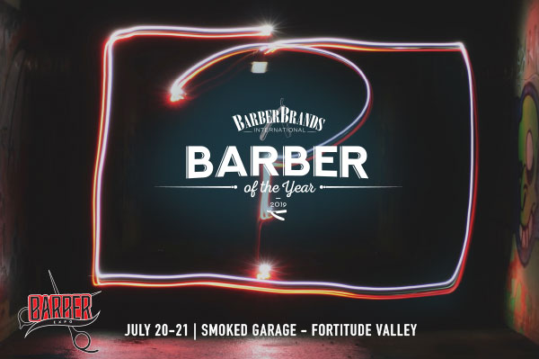 Barber Brands International – Barber of the Year 2019